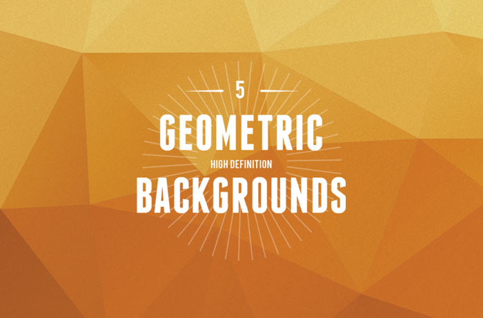 5 geometric backgrounds - 5 Geometric Backgrounds - Geometrische Muster