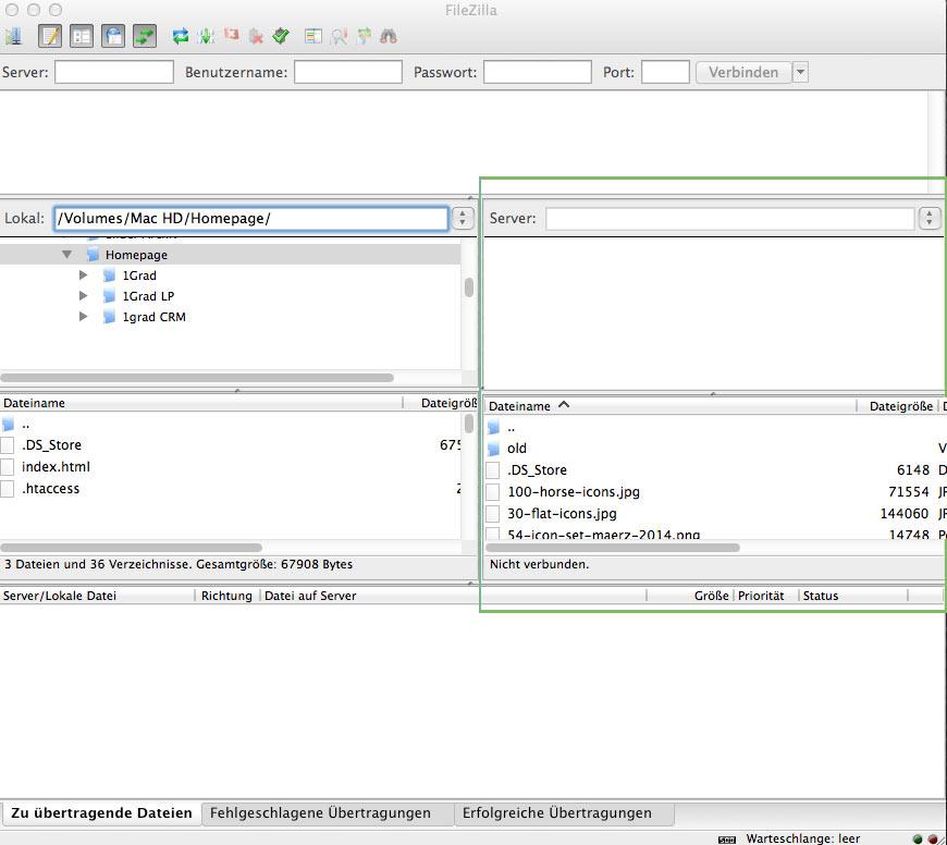 Anleitung - Wie installiert und verwendet man Filezilla?
