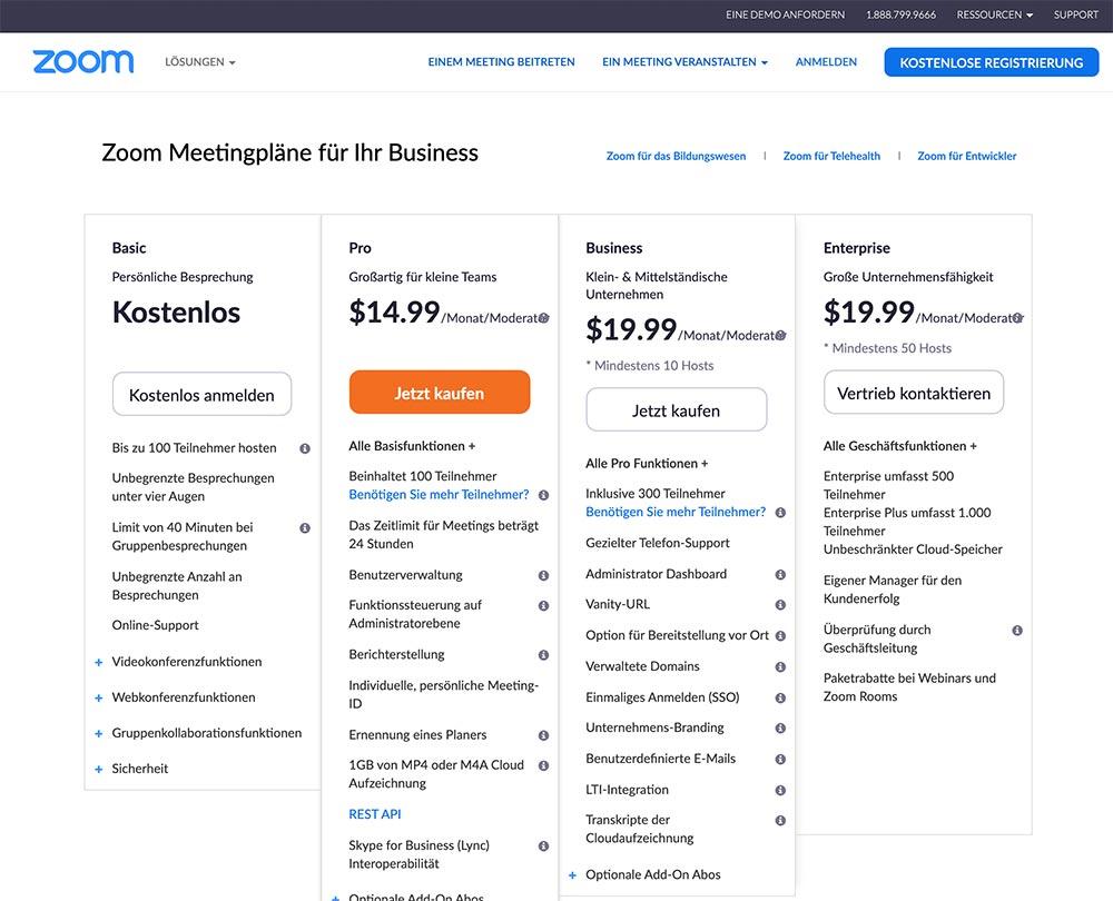 anleitung zoom 2 - Zoom Anleitung - Wie verwendet man Zoom für Online Meeting und seinem Business