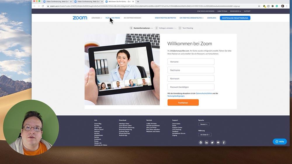 anleitung zoom 4 - Zoom Anleitung - Wie verwendet man Zoom für Online Meeting und seinem Business