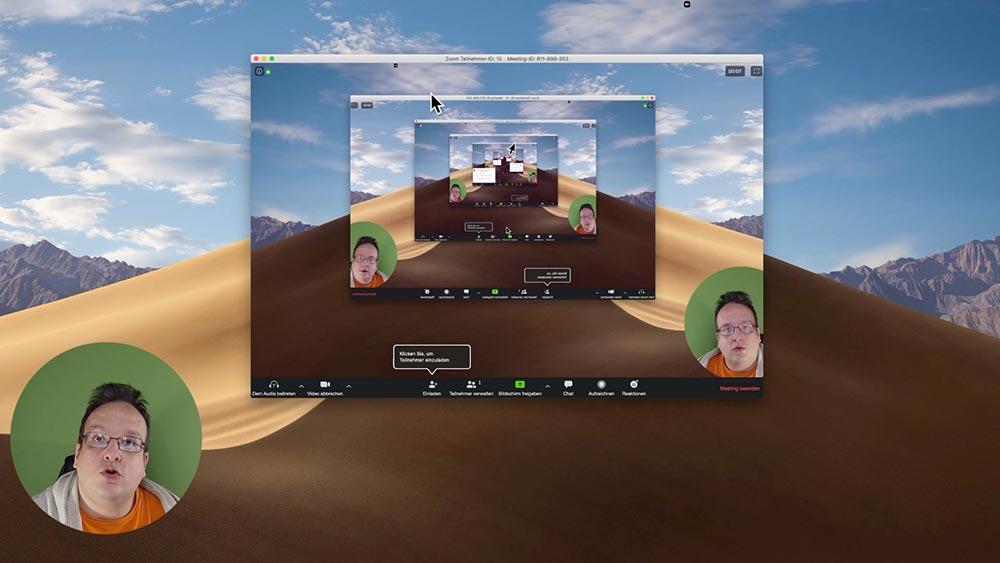 anleitung zoom 6 - Zoom Anleitung - Wie verwendet man Zoom für Online Meeting und seinem Business