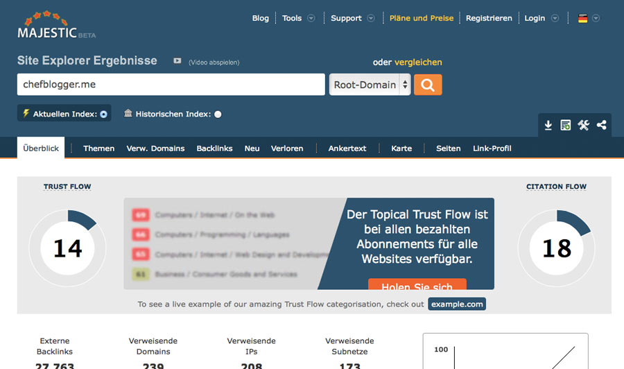 backlink checker majestic - Top 8 +2 der besten Backlink Checker Tools