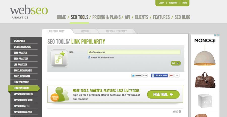 backlink checker webseo - Top 8 +2 der besten Backlink Checker Tools