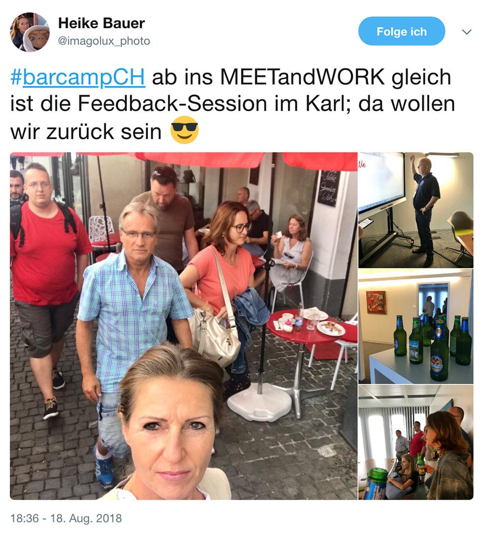 barcamp schweiz 2018 barcampch tweets 11 - Barcamp Schweiz 2018 - Mein Rückblick