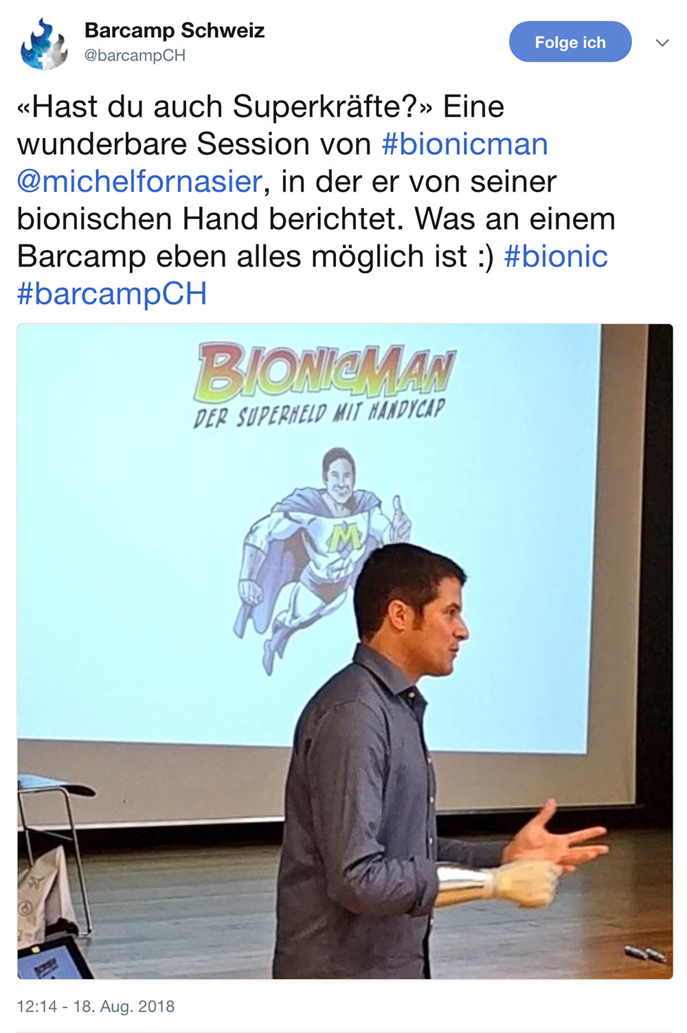 barcamp schweiz 2018 barcampch tweets 5 - Barcamp Schweiz 2018 - Mein Rückblick