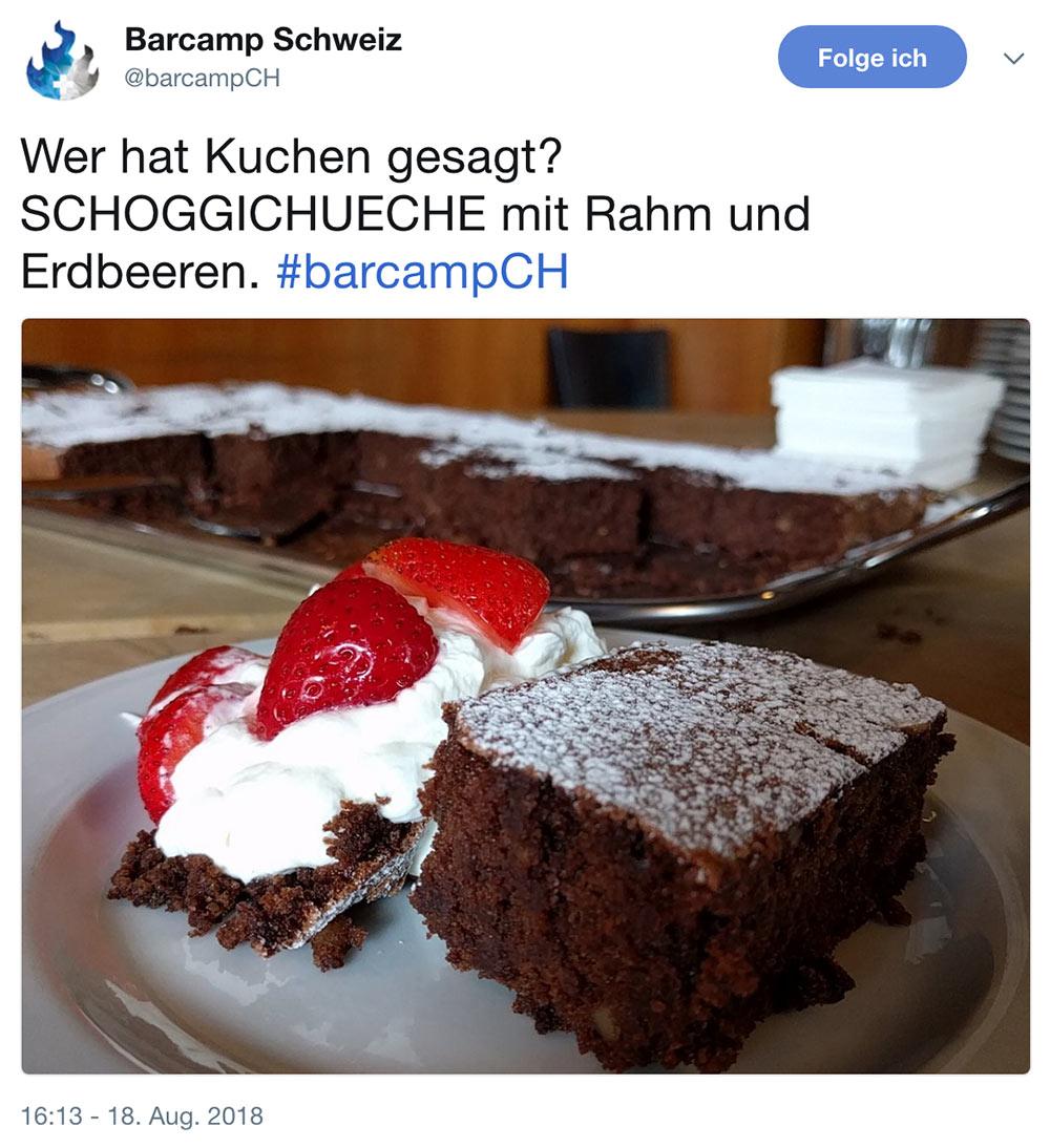 barcamp schweiz 2018 barcampch tweets 8 - Barcamp Schweiz 2018 - Mein Rückblick