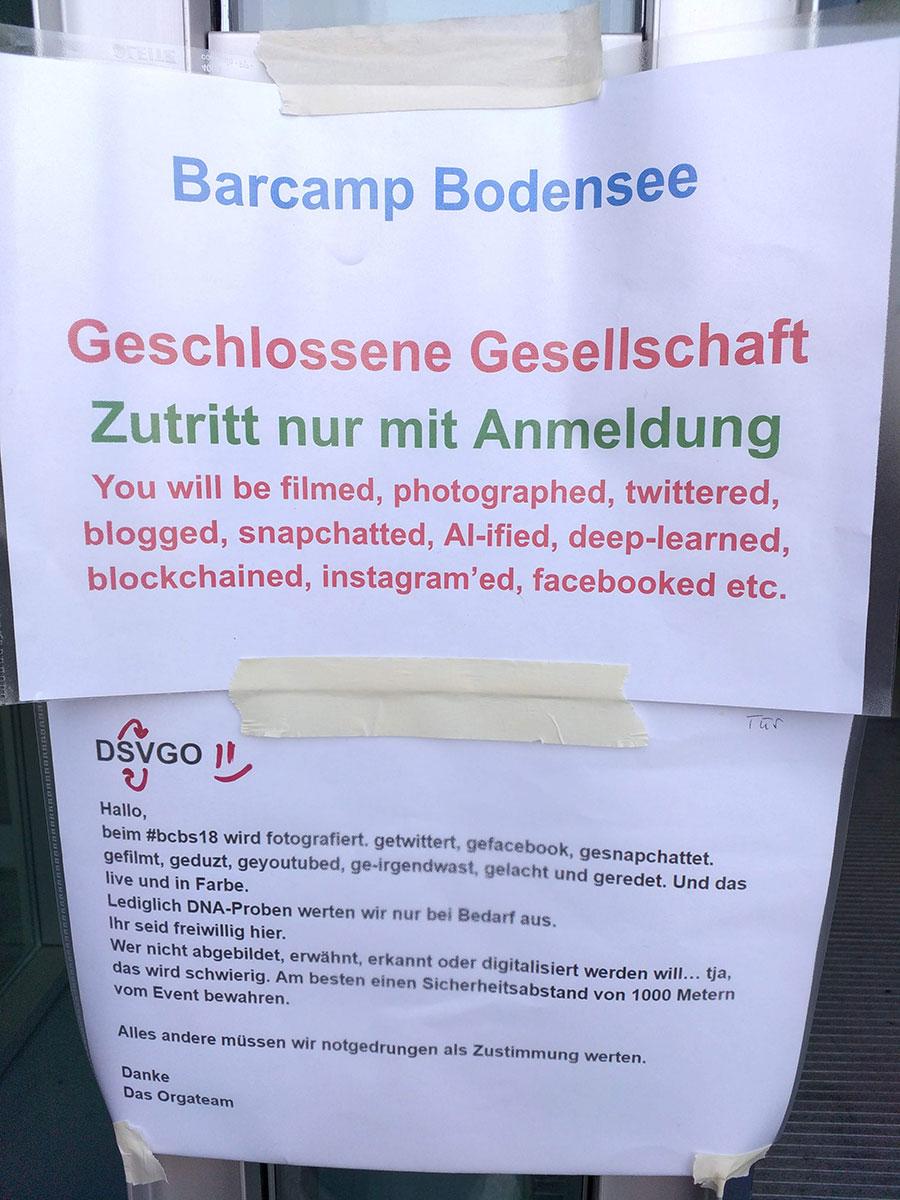 bcbs18 04 - Barcamp Bodensee 2018 - Mein Rückblick