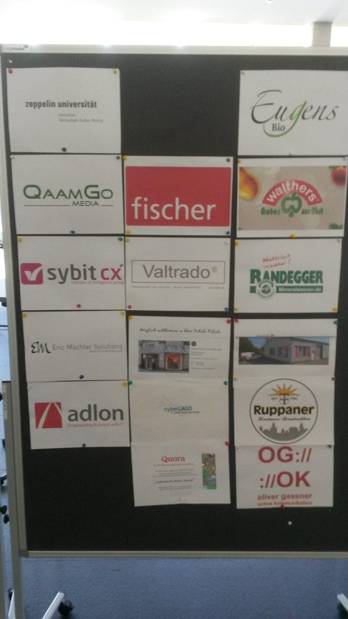 bcbs19 22 sponsoren - Barcamp Bodensee 2019 - mein Rückblick