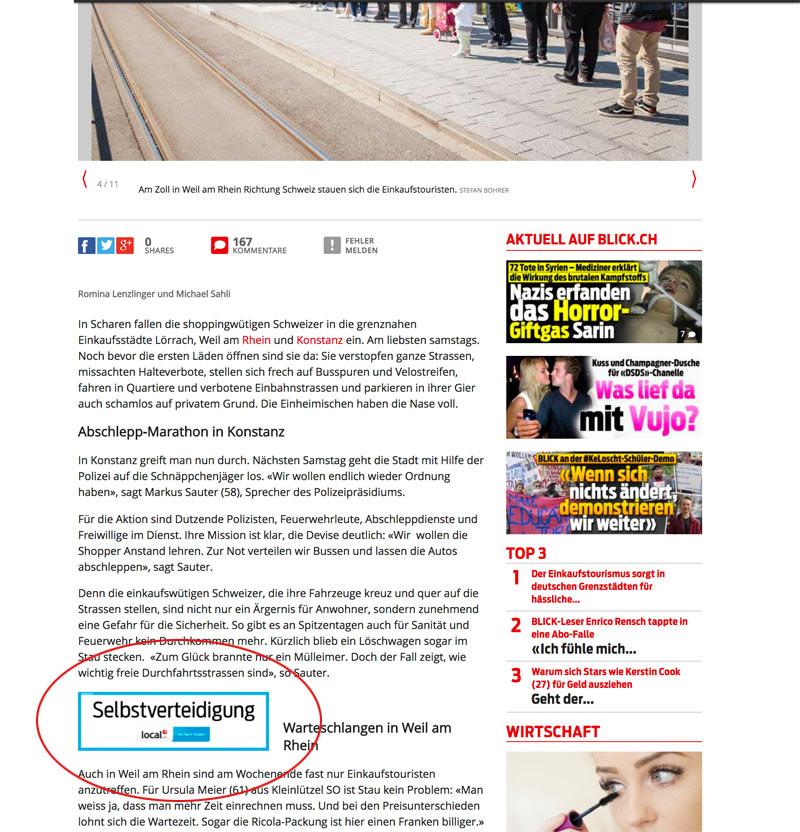 blick local werbung 2 - Local.ch und die lustige Werbung