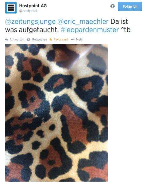 blogger relations hostpoint leopard 3 - Hostpoint, eine erfolgreiche Blogger-Relations und ein Kulthemd
