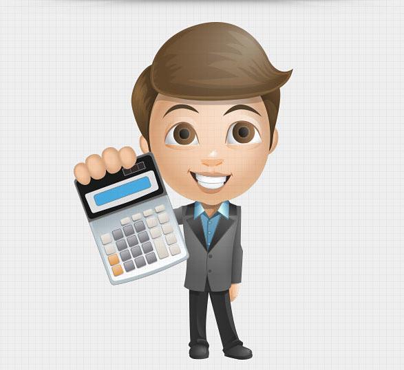 Free Businessman Vetctor Set