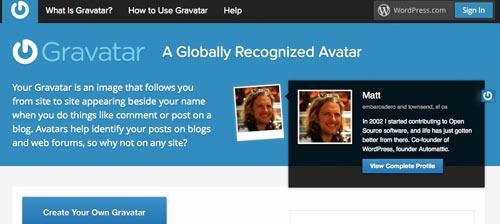 chefblogger profilbild0 - Anleitung - Wie bekomme ich ein Profilbild bei meinen Blog-Kommentare ?