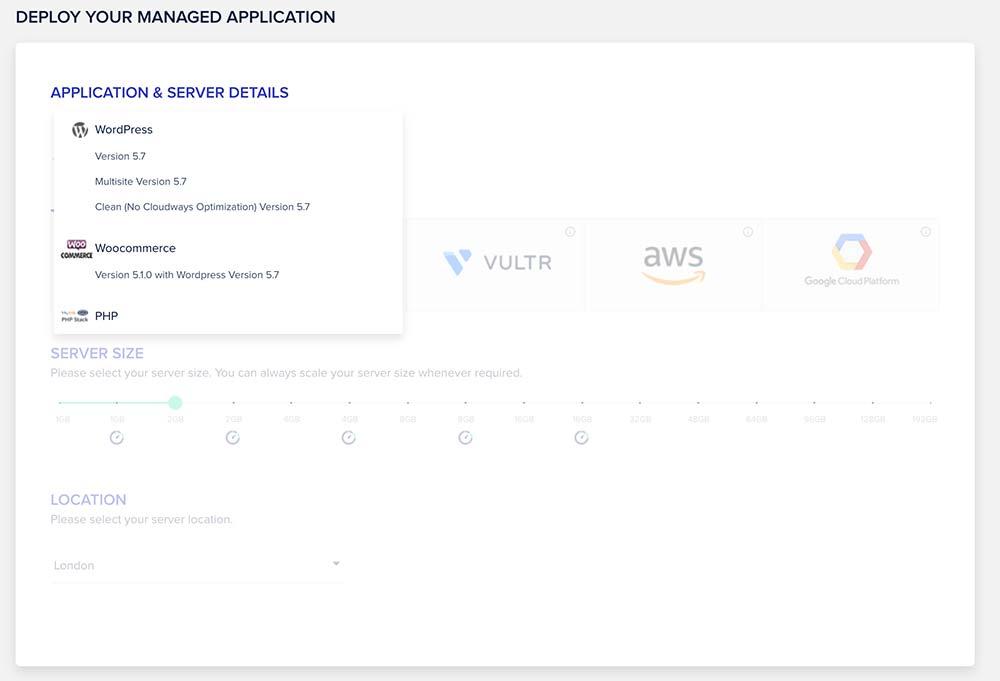 cloudways 2021 3 - Cloudways: Webseite Cloud Hosting ab 10 Dollar im Monat