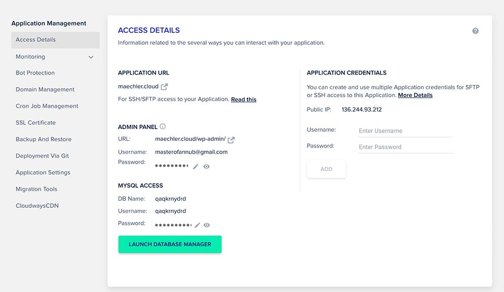 cloudways 2021 6 - Cloudways: Webseite Cloud Hosting ab 10 Dollar im Monat
