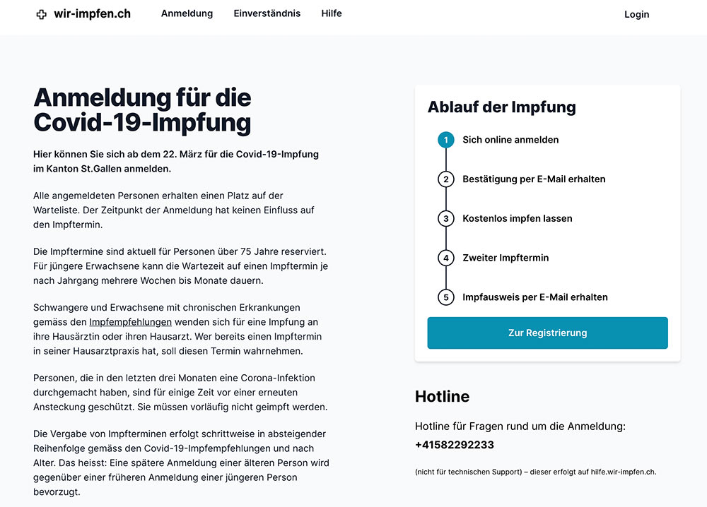 covid impfung tool stgallen 0 - Wir-Impfen.ch in St.Gallen - Das Impftool im Test