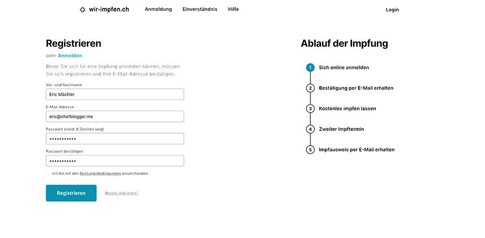 covid impfung tool stgallen 1 - Wir-Impfen.ch in St.Gallen - Das Impftool im Test