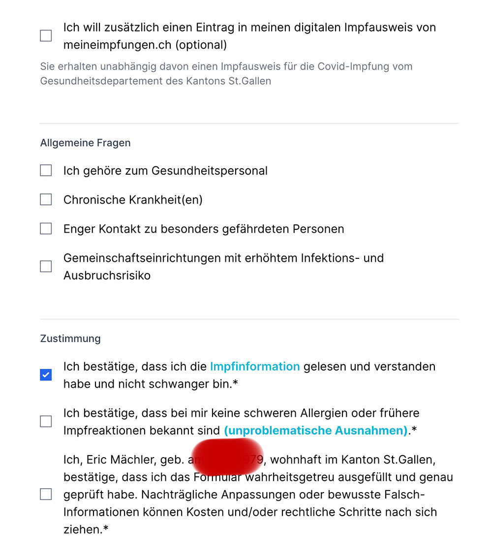 covid impfung tool stgallen 3a - Wir-Impfen.ch in St.Gallen - Das Impftool im Test