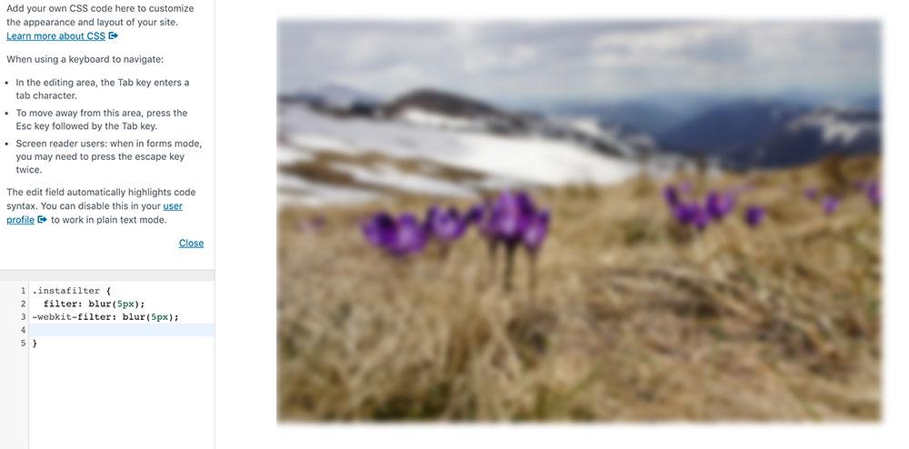 css filter 2 - 10 Instagram Filter mit denen man die Bilder auf der Webseite verschönern kann.