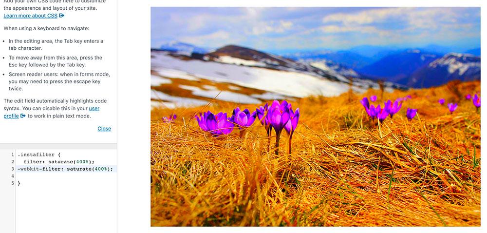 css filter 5 - 10 Instagram Filter mit denen man die Bilder auf der Webseite verschönern kann.