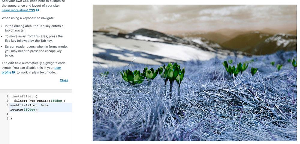css filter 6 - 10 Instagram Filter mit denen man die Bilder auf der Webseite verschönern kann.
