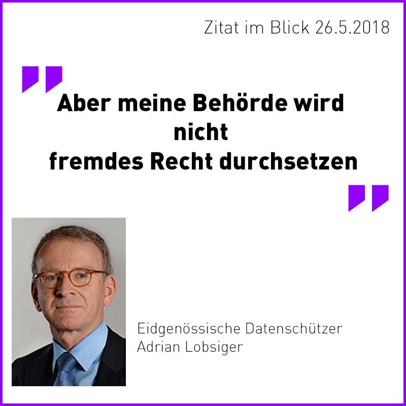 datenschuetzer ch dsgvo - DSGVO muss in der Schweiz nicht umgesetzt werden!!