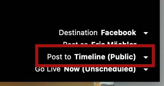 ecamm live facebook kommentare 2 - Ecamm Live: Facebook Kommentare werden nicht angezeigt oder anonym - was muss ich tun?