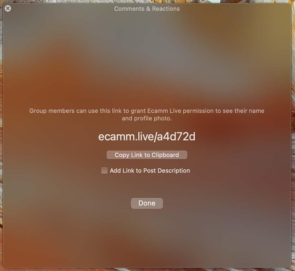 ecamm live facebook kommentare 4 - Ecamm Live: Facebook Kommentare werden nicht angezeigt oder anonym - was muss ich tun?