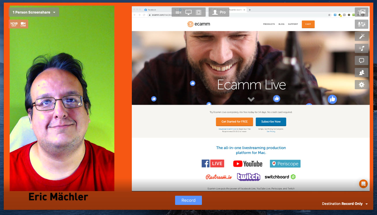 ecamm live overlay pack simple 1 - Ecamm Live - Guest Overlay Pack Simple