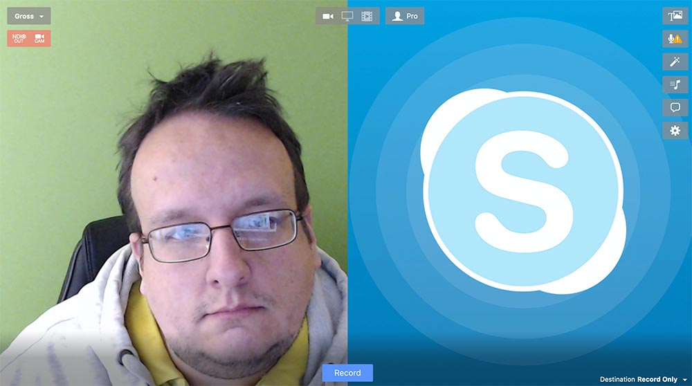 ecamm live skype - Ecamm Live: How to use Skype for a Interview without an Account?