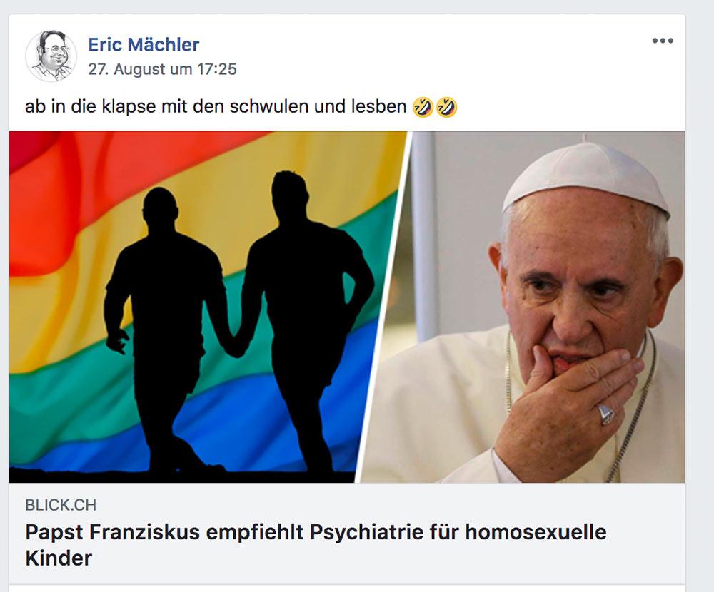 facebook blick artikel papst kinder psychiatrie 2 - Facebook: Verlinken führt zur Sperrung des Konto
