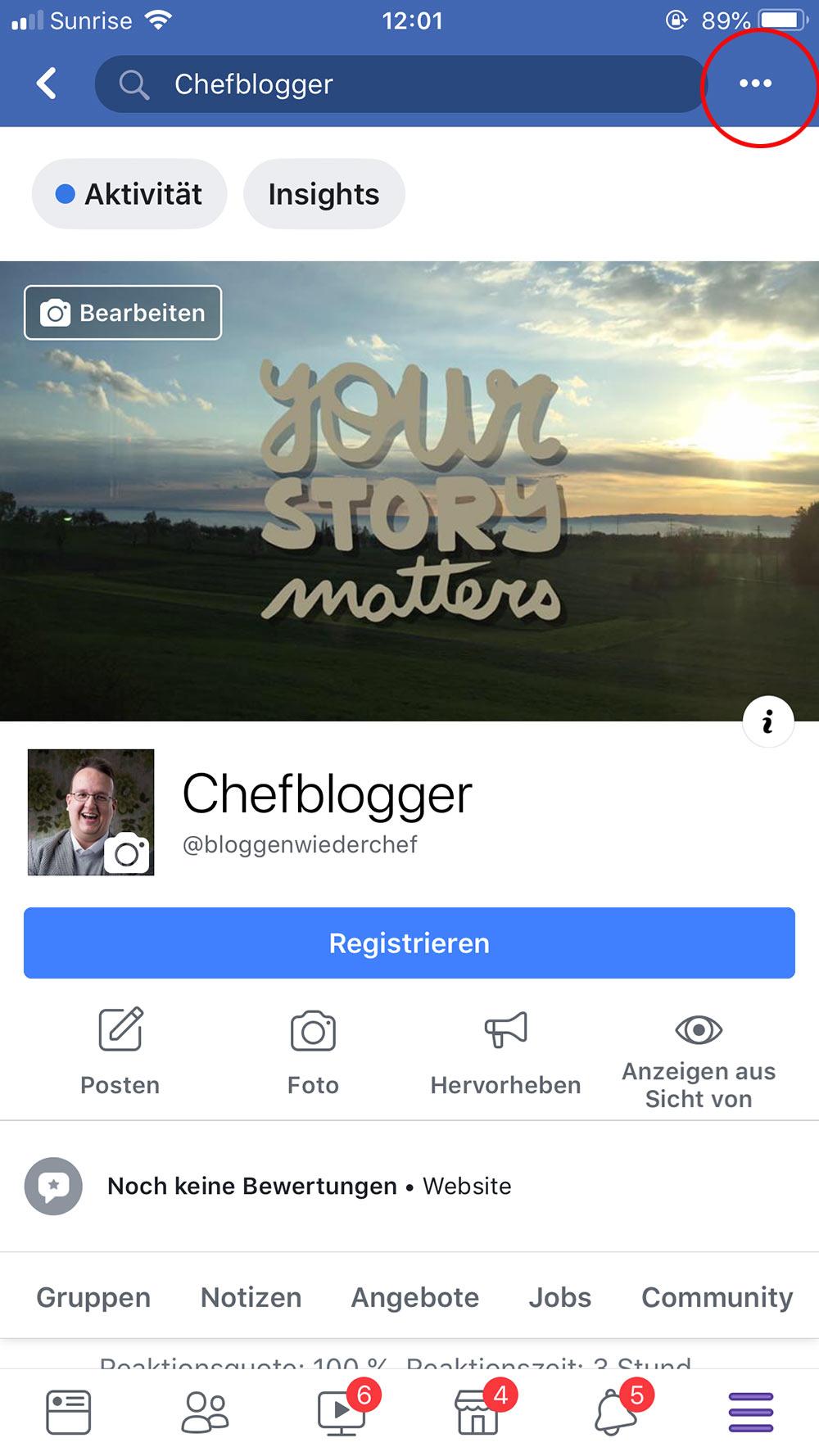 facebook live video 1 - Wie starte ich ein Live Video / Livestream bei Facebook
