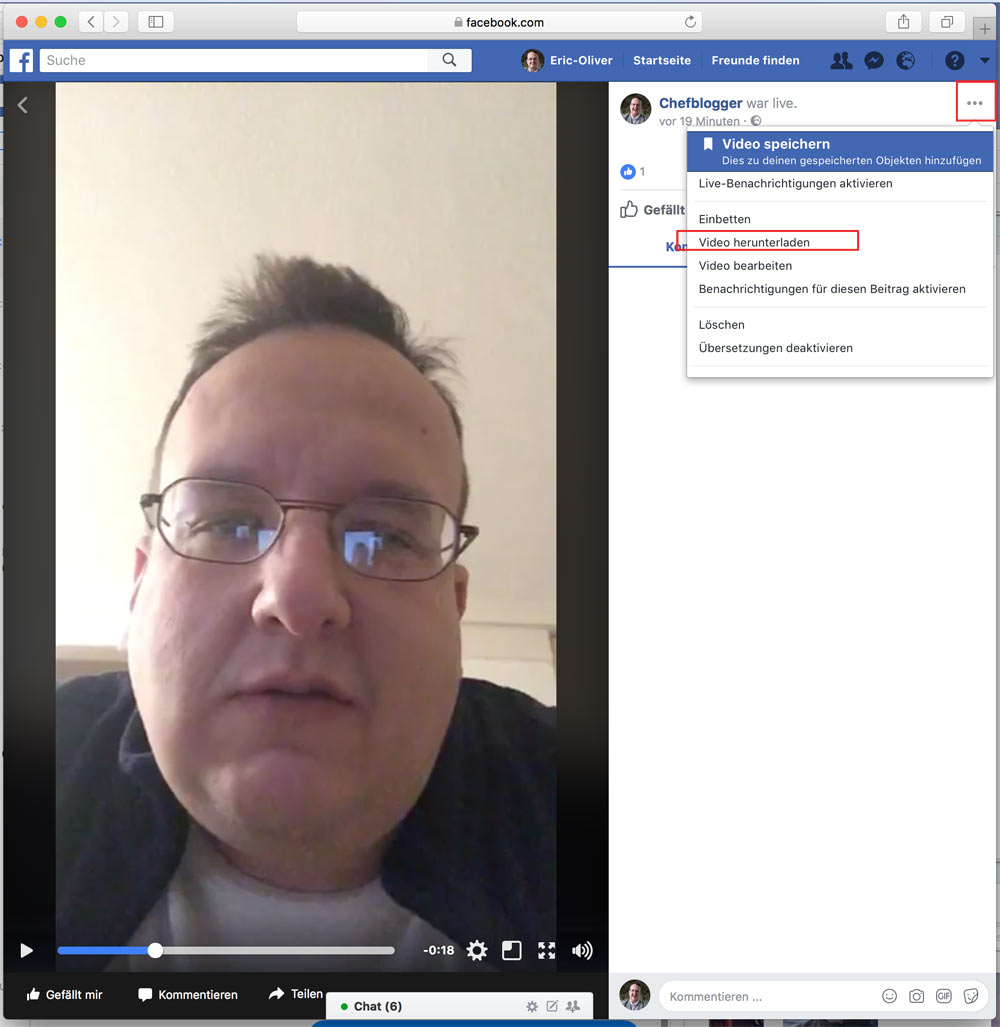facebook live video download 2018 - Facebook: Wie kann man Facebook Live Videos abspeichern