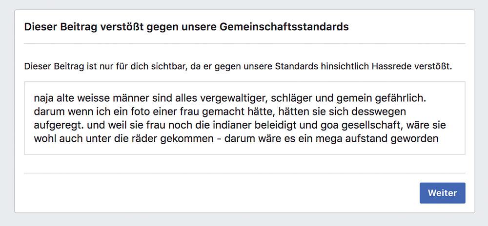 facebook sperre zitieren 1 - Facebook: Zitieren führt zu Sperrung