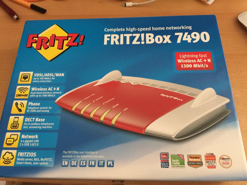 fashionpaper fritzbox 2 - Dank der FritzBox wohne ich nun in Deutschland