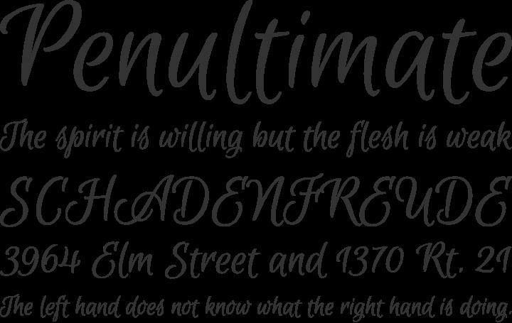 Euphoria Script - Free Font