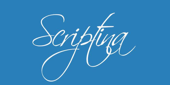4 geniale Kalligrafie Schriftarten