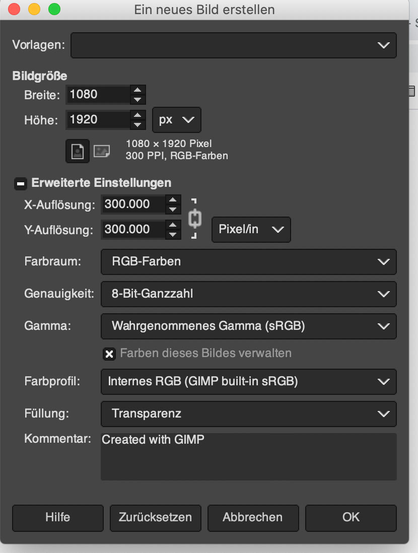 gimp bild opacity 1 - Gimp: Bild mit reduzierter Deckkraft / Opacity erstellen