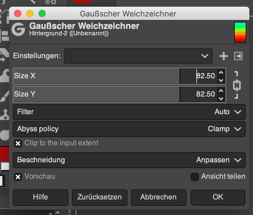 gimp bild opacity 5 - Gimp: Bild mit reduzierter Deckkraft / Opacity erstellen