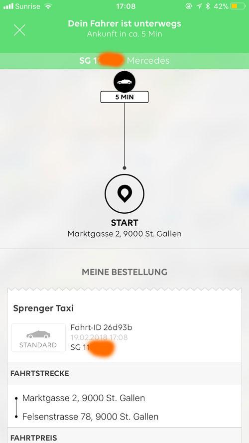 go taxi app 3 - go! Taxi - die neue und coole Taxi App