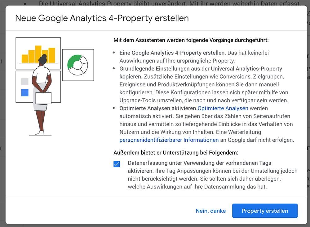 google analytics 4 aktualisieren 4 - Google Analytics 4 - Aktualisieren und Einrichten