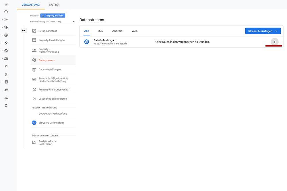 google analytics 4 aktualisieren 6 - Google Analytics 4 - Aktualisieren und Einrichten