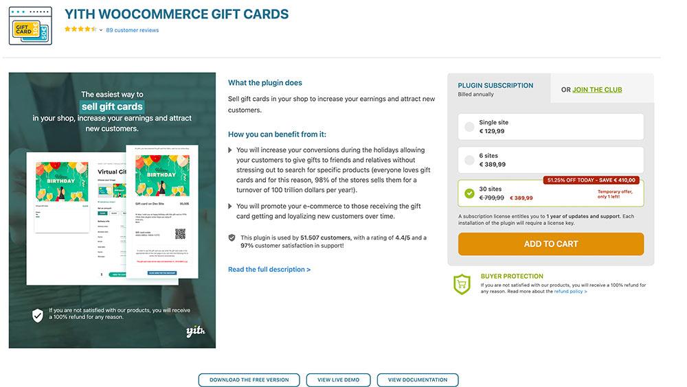 gutschein 07 - WooCommerce: Mit welchen Plugins kann man Gutscheine verkaufen?