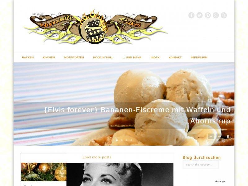 Food Blog dynamitecakes.de