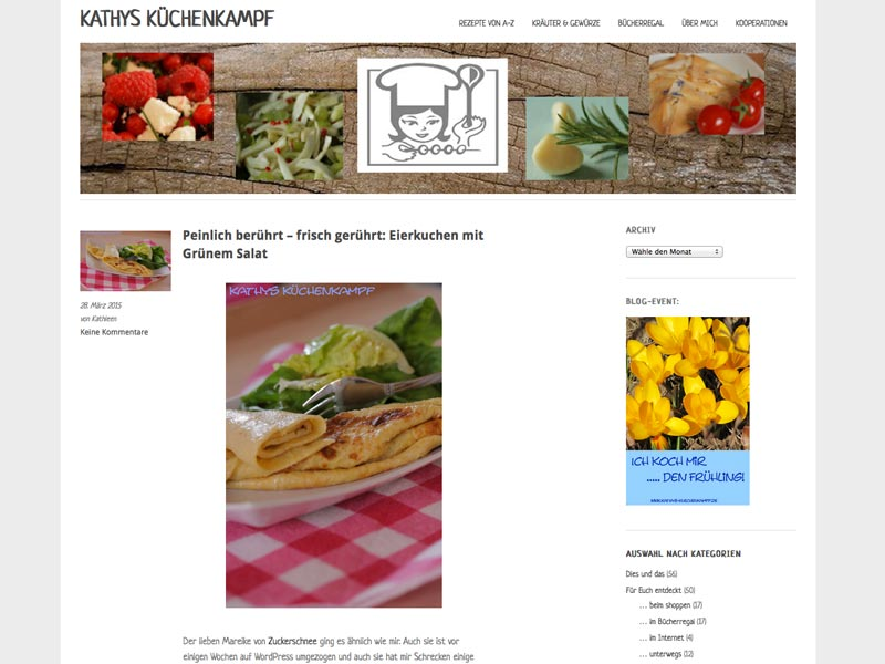 Food Blog kathys-kuechenkampf.blogspot.de