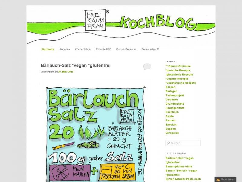 Food Blog kochblog.freiraumfrau.de