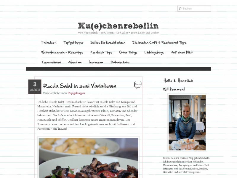 Food Blog kuechenrebellin.de