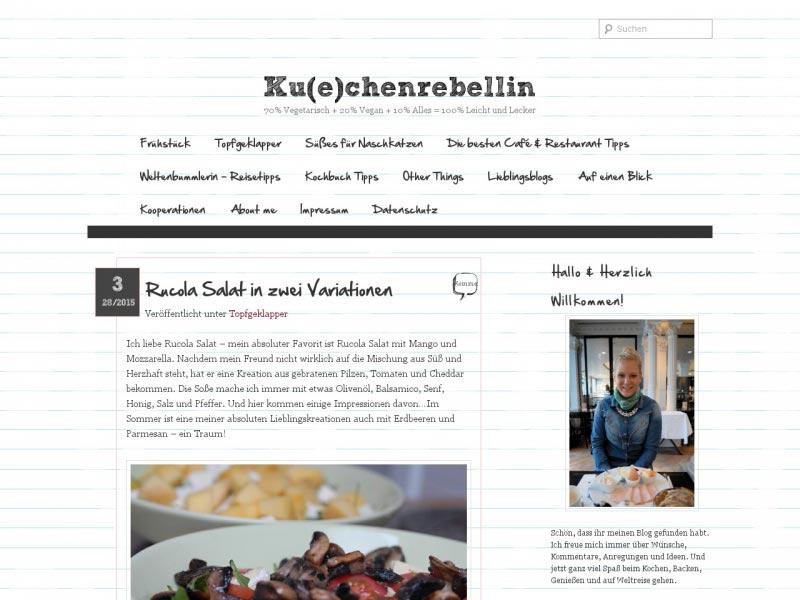 Food Blog kuechenrebellin.de
