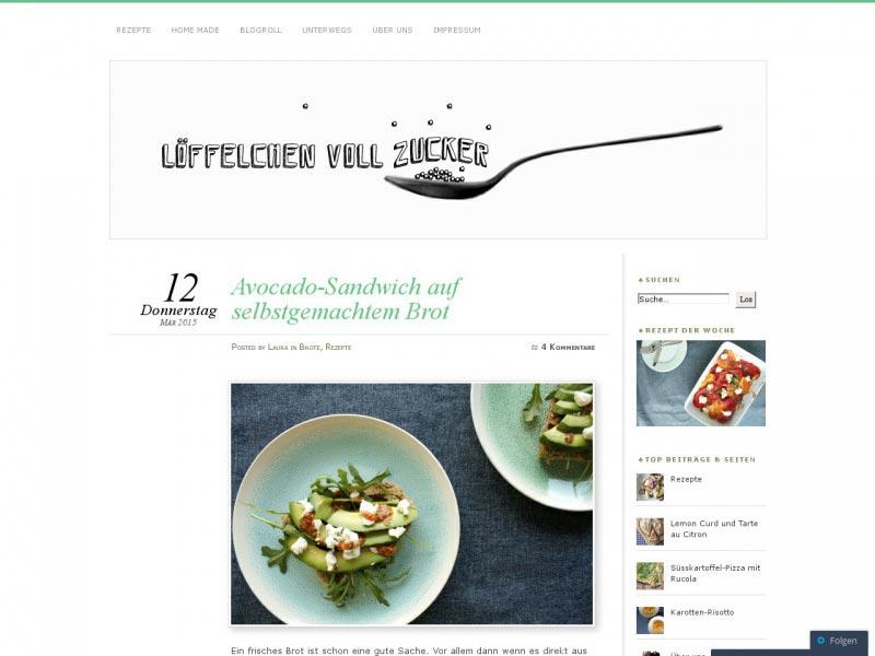 http loeffelchenvollzucker - Die Liste der besten Food-Blogs im deutschsprachigen Raum