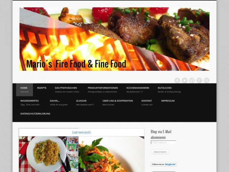 Food Blog mario-kaps.de