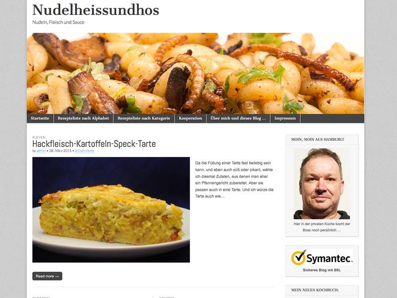 Food Blog nudelheissundhos.de
